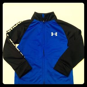 Little Boy's Under Armour Athletic Jacket Sz 4